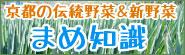 京都の伝統野菜&新野菜 まめ知識